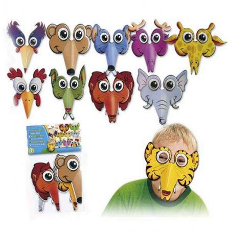 Antifaz animales niños