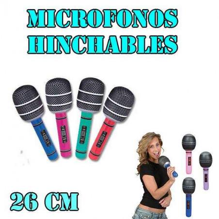 Microfono hinchable 26cm