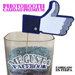 Photo booth me gusta Facebook