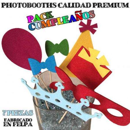Accesorios photocall cumpleaños premium