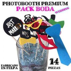 """Photo booth para bodas """"Wedding"""" felpa"""