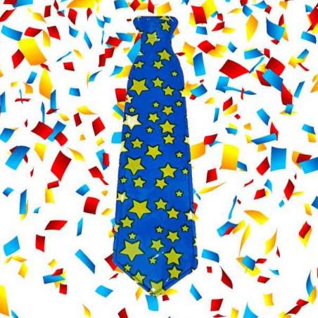 corbatas photocall con estrellas