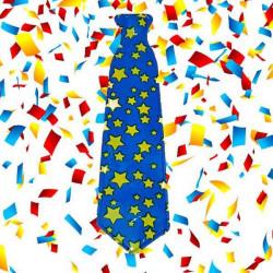 corbatas estrellas photocall