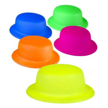 Sombrero Bombín Fluorescente