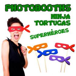 PHOTO BOOTHS FIESTA SUPER HEROES