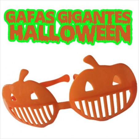 Gafas gigantes halloween calabaza