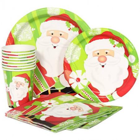 Vajillas desechables para Navidad