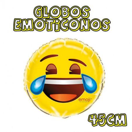 globos emoticono lagrimas risa