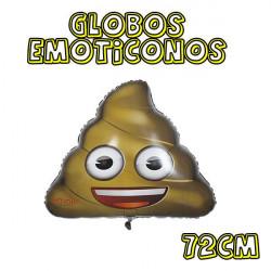globos emoticono caca