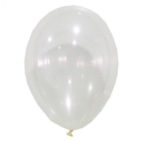globos transparentes sin confeti