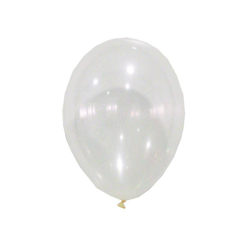 globos transparentes sin confeti - Globos Transparentes