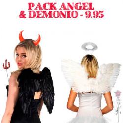 disfraz angel adulto