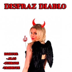 Disfraz demonio