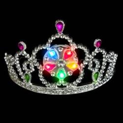 Tiara princesa disfraz led