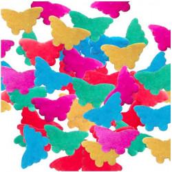 cañón confeti mariposas papel seda